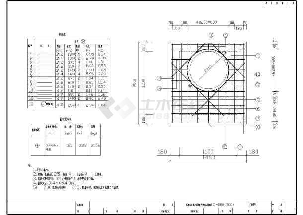 配筋雨水、三通混凝土矩形v配筋井及图纸图_c护面墙浆砌直线图片