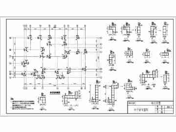 某农村两层别墅楼建筑设计施工图(含结构)