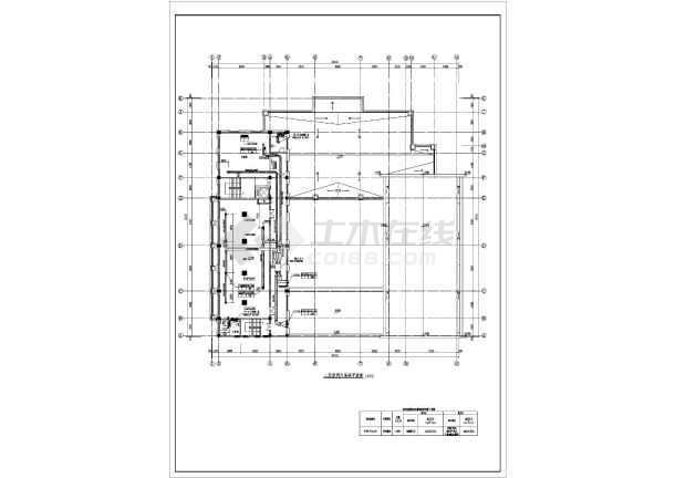 图纸 暖通设计图 户式中央空调 多联机空调设计图 某地区餐饮vrv多联