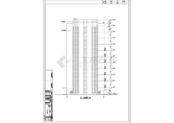 【江苏】11层框架剪力墙研发楼建筑结构设计施工图纸