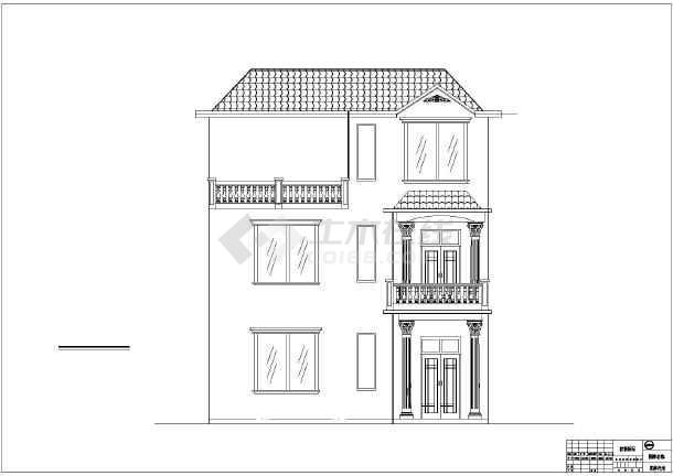 双第农场86平米农村小别墅建筑设计图图片