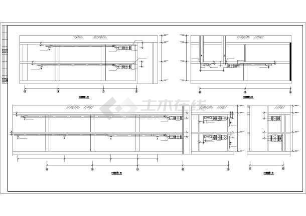 某小区地下车库通风排烟设计施工图纸-图2