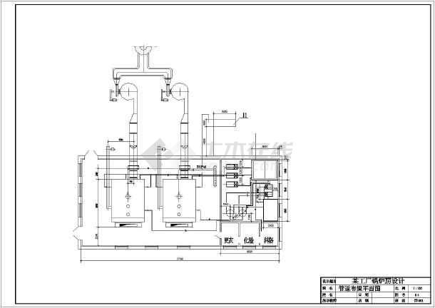 【南通】某大型工厂废气处理施工图-图3