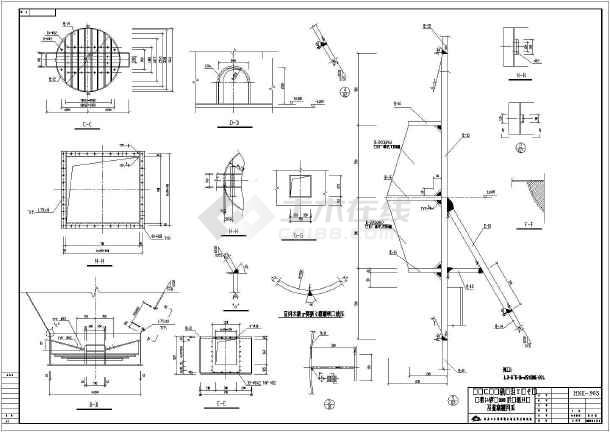 3000t水泥筒仓上部钢结构施工图