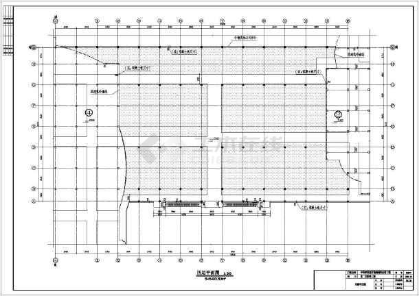 西部某多层钢框架结构厂房建筑设计施工图