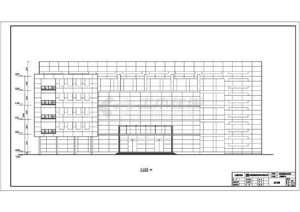 德阳市五层图片结构地税局办公楼建筑设计框架图方案1中国建筑设计研究院深圳院图片