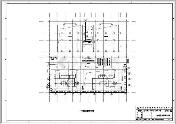 新疆某电厂主厂房采暖及通风设计施工图纸