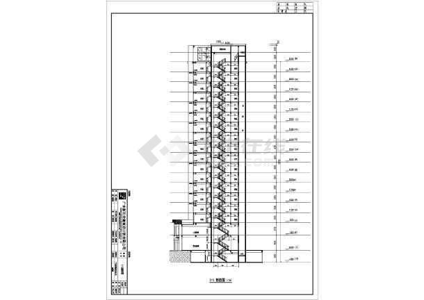 某地18层框剪结构住宅楼结构设计施工图
