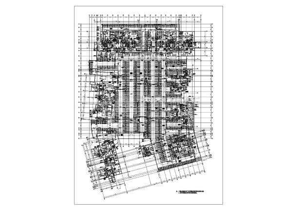 某住宅小区地下图纸通风施工设计车库天津境易环境景观设计公司图片