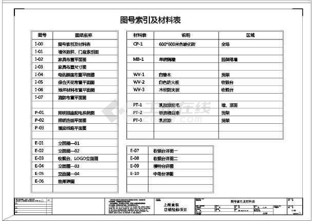 上海童装店铺装修施工图 图2 高清图片