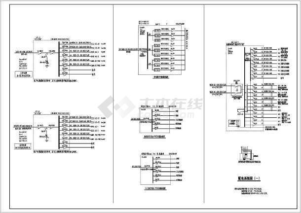 沈阳市金沙美丽岛十八层楼电气施工图