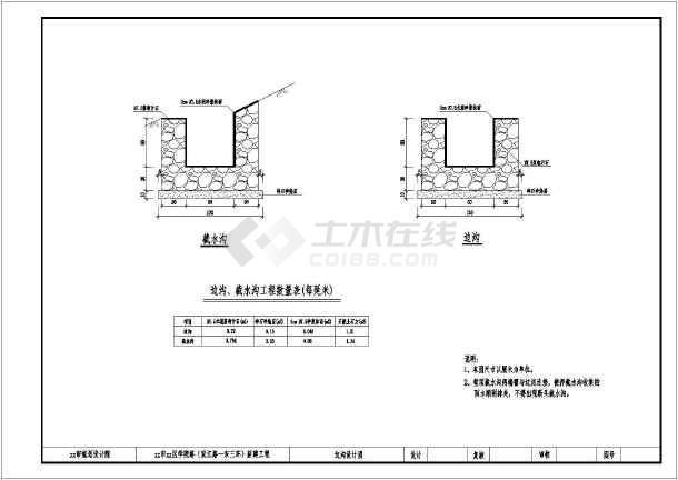 图纸全套30惠州市次道路干路红线施工图_cad海伦堡米城江北宽度图片
