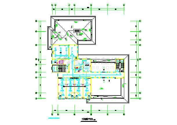 某地区三层幼儿园电气设计施工图纸
