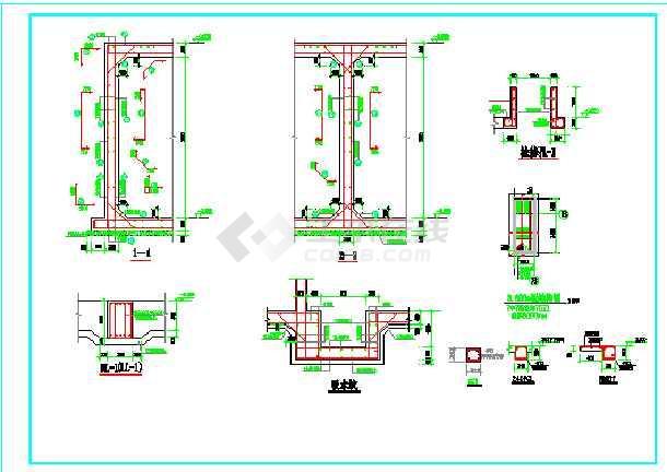 消防命令建筑、全套、水暖电水池施工图_cadcad快捷键什么结构是v命令图片