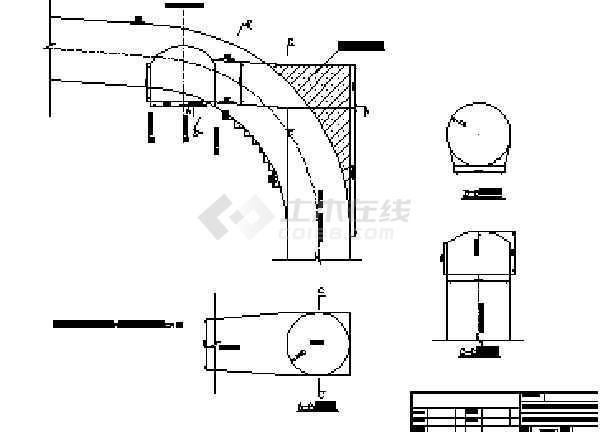 引水竖井开挖支护施工技术措施及设计图纸-图2