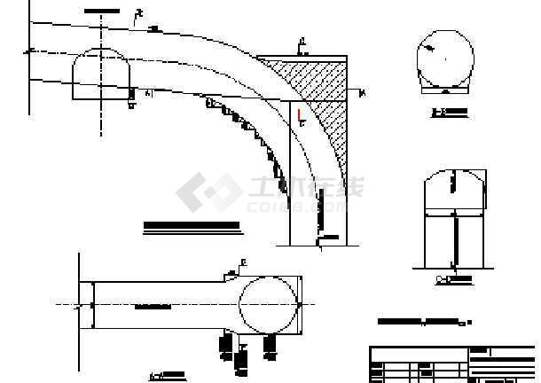 引水竖井开挖支护施工技术措施及设计图纸-图3