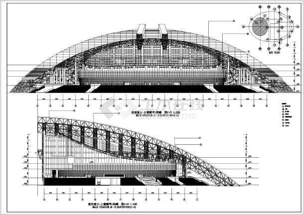 澳门东亚运动会体育馆建筑方案设计图