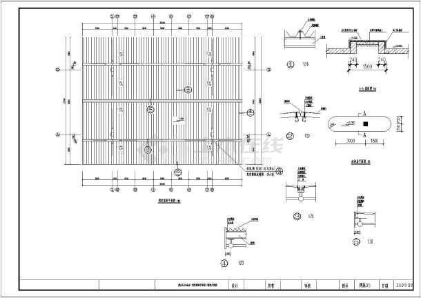 某高速服务区加油站建筑设计施工图