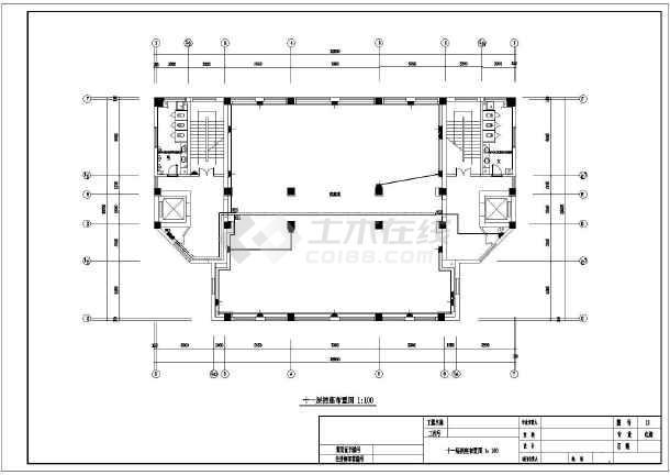 某信用社办公楼室内装修电气设计工程(强电)