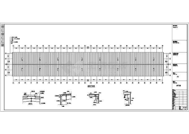 某地钢结构厂房建筑及结构施工图纸