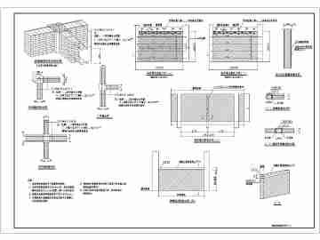 砌体结构工程常用节点构造大样详图