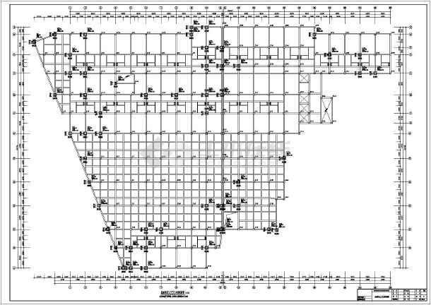新泰市5层框架结构酒店结构施工图