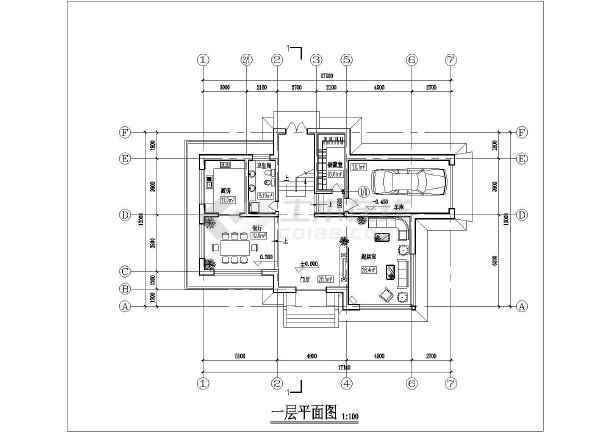 某农村二层小型别墅建筑方案设计图-图2