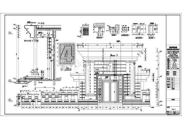 包括建筑设计说明,每一层平面图,立面图,剖面图,楼梯大样图,墙身大样