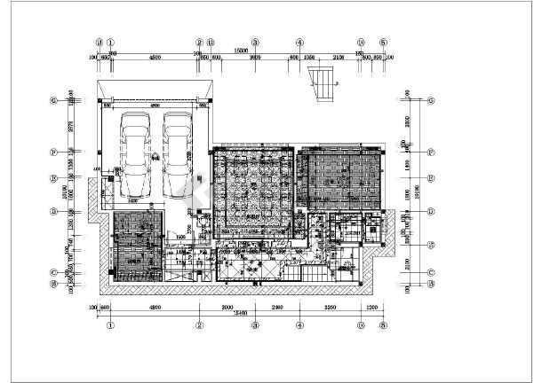 某地三层别墅室内装修设计方案图纸
