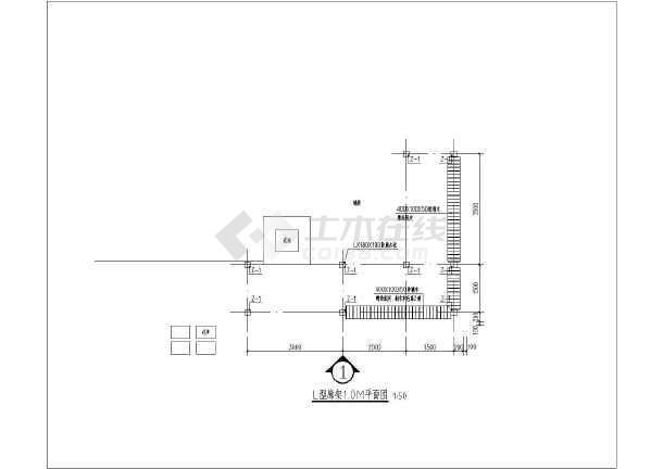 简介:l型防腐木廊架下带座椅,l型廊架平面图,l型廊架正立面图,l型廊架