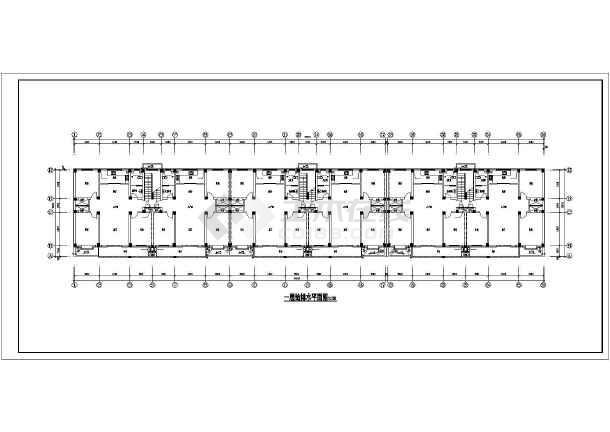 某地多层住宅楼给排水设计全套图纸-图1
