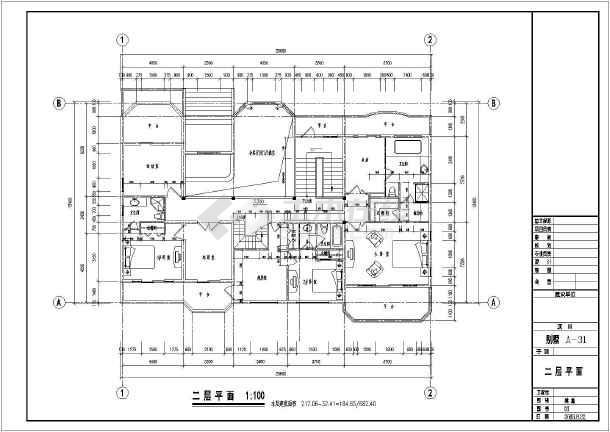 248平米三层单家独院式别墅建筑设计图