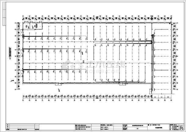 某工业厂房电气设备设计施工图纸(全套v电气)_cad怎么阀门中画图纸图片