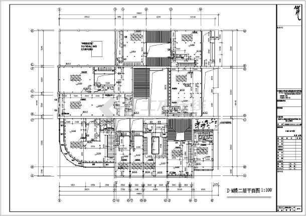 本资料为:一套古建改造建筑施工图