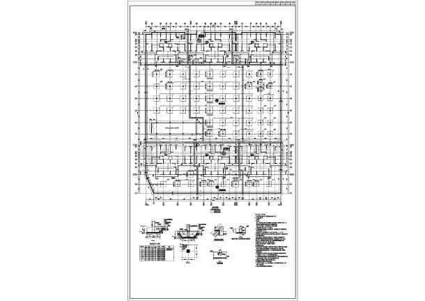建筑结构图 地基基础图纸