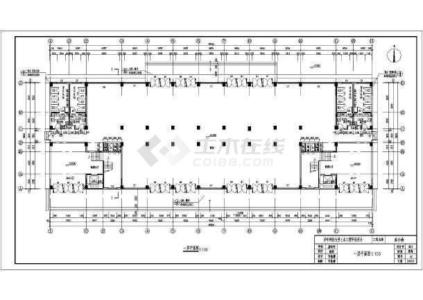 某地八层办公楼建筑设计图(毕业设计)图片