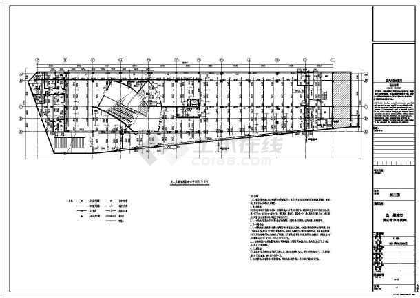 本图是装修改造工程,超市内原有消防系统具备,图纸设计仅在涉及范围图片
