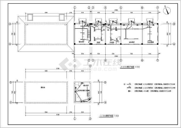 发电机房设计图_某工程消防水泵房、发电机房电气设计_cad图纸下载-土木在线