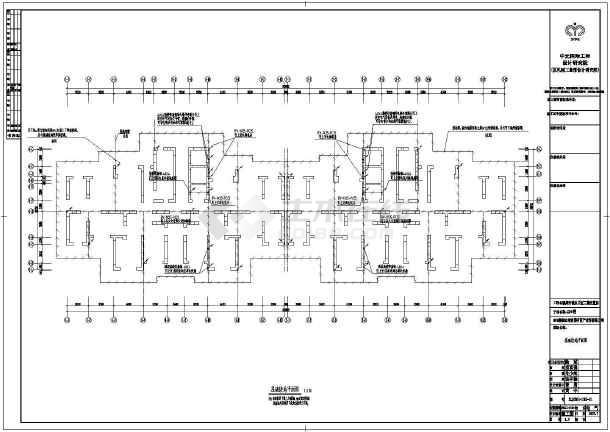 泉州市城东电气某安置房图纸设计片区图纸设计地牢图片
