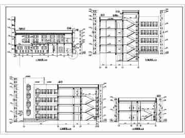 小学教学楼建筑设计图