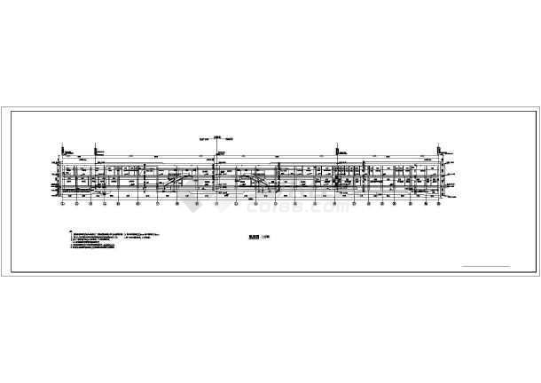 杭州某地铁地下全套车站建筑施工图_cad图纸宏碁sf3cad图片