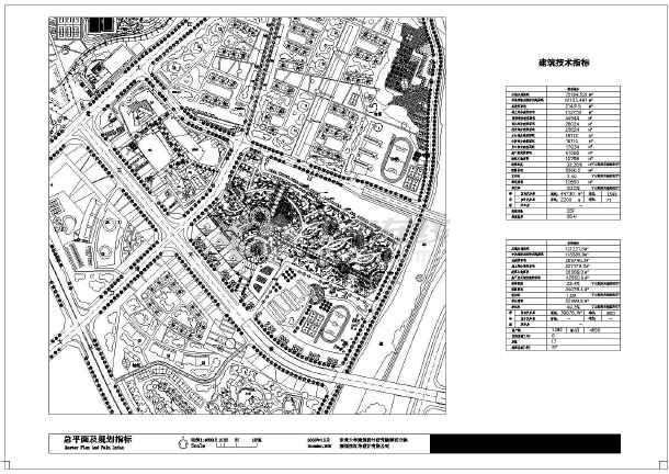 城市规划设计平面图