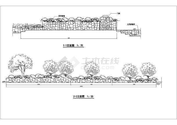 图纸 园林设计图 景观规划设计 居住区景观规划设计图 某市私家别墅