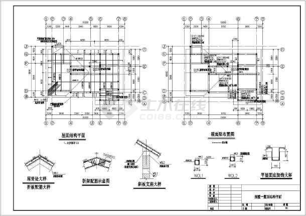 某二层欧式别墅建筑方案图(含效果图)