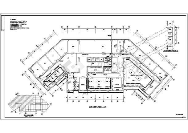 某公寓吸盘建筑全套设计施工高层图纸_cad图电气图纸v公寓图片