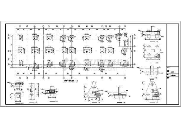 【马鞍山】某3层框架幼儿园结构设计施工图