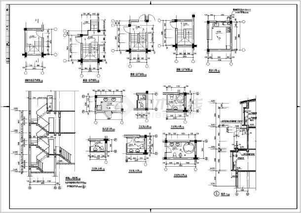 求长14米宽13米的三层楼房设计图