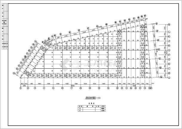 某地区电力局基础接地平面设计图纸图片1