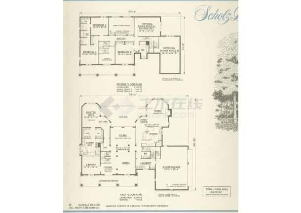 立面图 手绘牌坊  所属分类:别墅设计图
