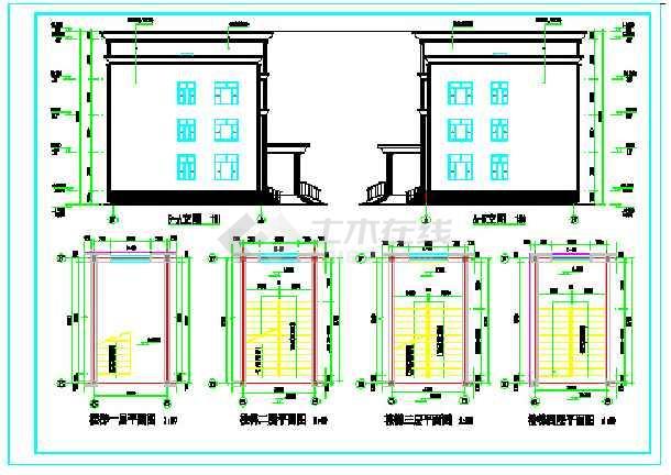 办公楼建筑设计施工图